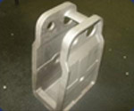 Casting of Steel Suspension Frame Hanger for the Trucking Industry